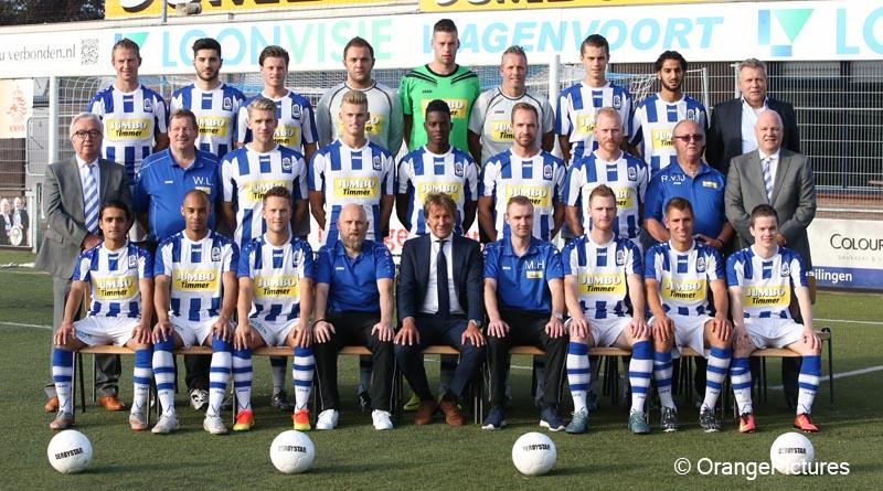 FC Lienden elftalfoto 2016-2017