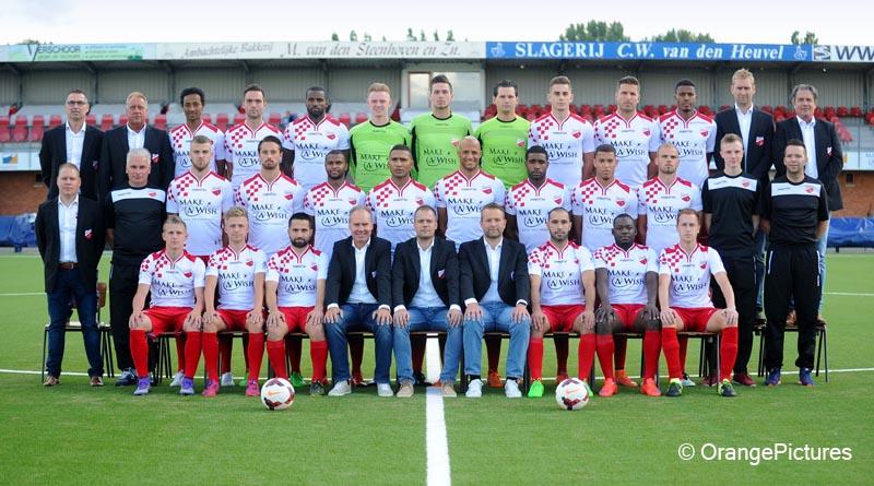 Kozakken Boys elftalfoto 2016-2017
