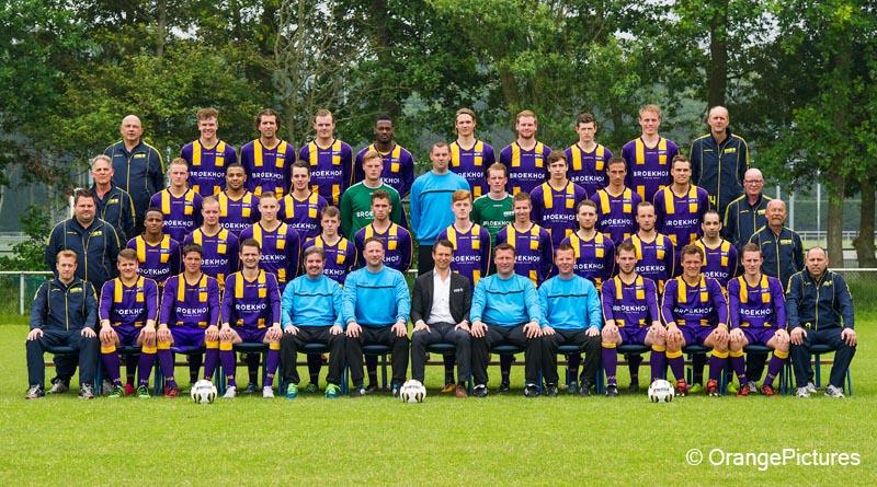VVSB elftalfoto 2016-2017