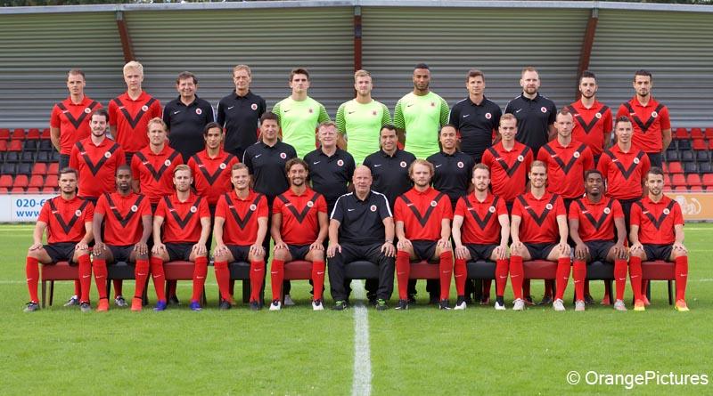 AFC elftalfoto 2016-2017