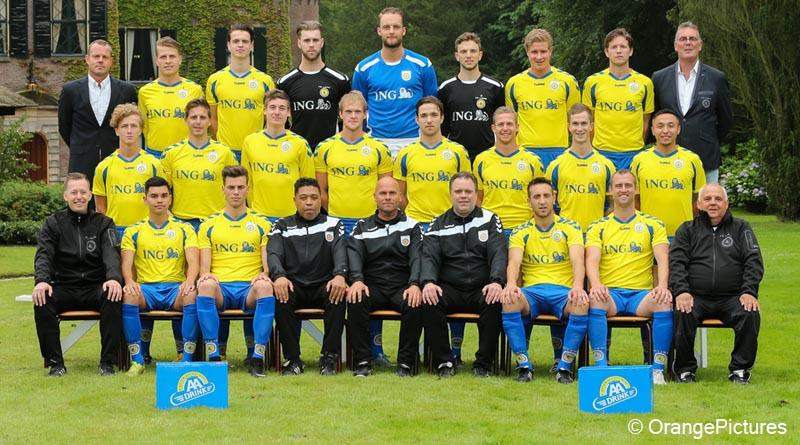 FC Lisse elftalfoto 2016-2017
