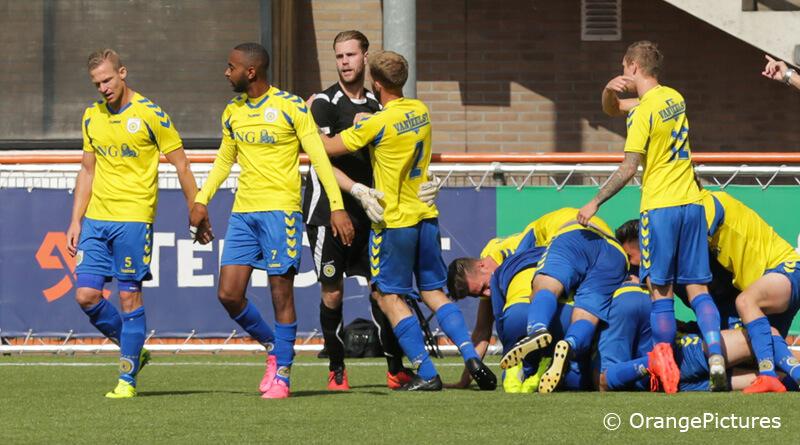 FC Lisse juichen bij FC Volendam