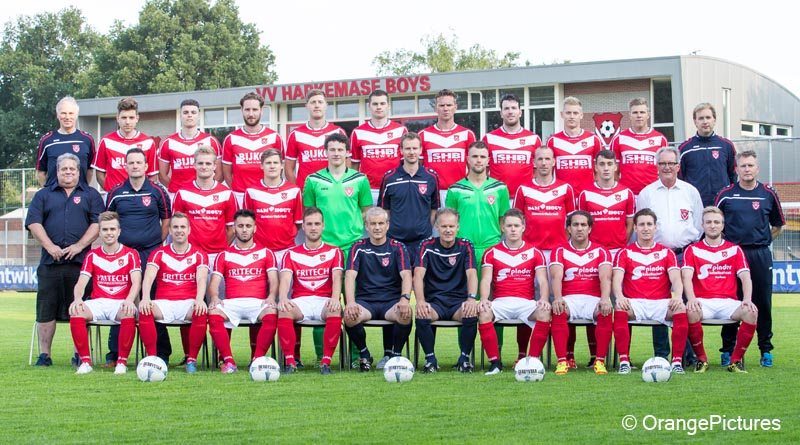 Harkemase Boys elftalfoto 2016-2017