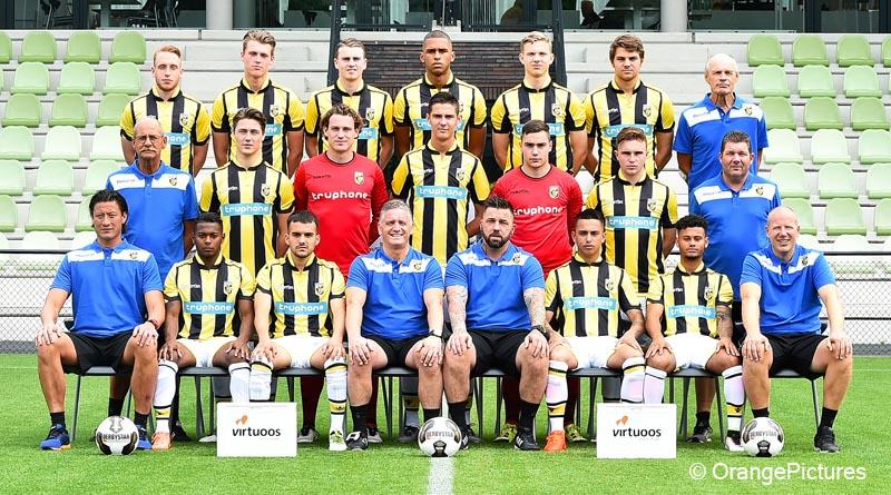 Jong Vitesse elftalfoto 2016-2017