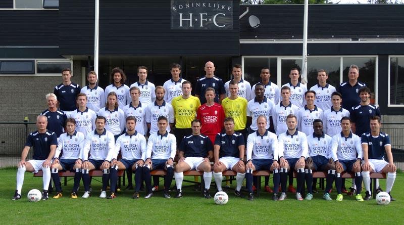 Koninklijke HFC elftalfoto 2016-2017