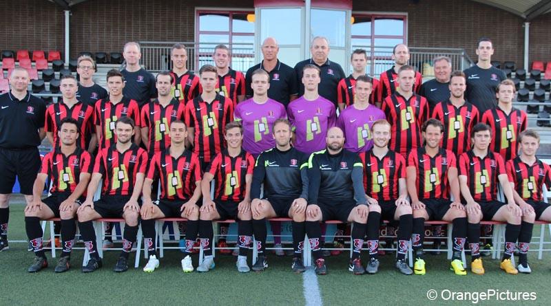 OJC Rosmalen elftalfoto 2016-2017