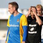 HHC-doelman na rode kaart speler FC Lisse: 'Die gast spoort gewoon niet'