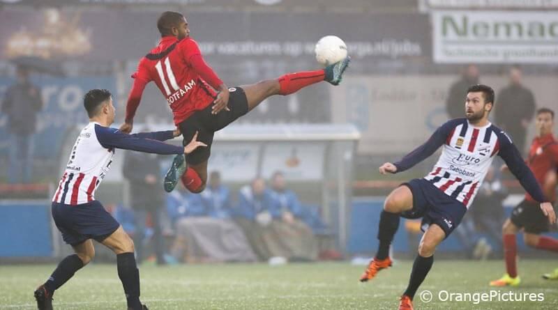Melvin Grootfaam Stefan Kruithof AFC Excelsior Maassluis
