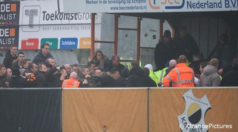 Vechtpartij Katwijk Spakenburg