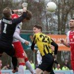 Rijnsburgse Boys en IJsselmeervogels delen de punten, Barendrecht verslaat Jong Sparta