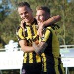 Rijnsburg dendert door tegen De Treffers, VVSB verliest van Jong Sparta