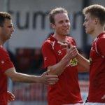 Jupiler League-clubs verdringen zich rond JVC-spits Jordie van der Laan