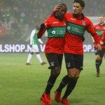 NEC speelt Dordrecht zoek in de mist, De Graafschap wint nipt, FC Oss profiteert van missers Eindhoven