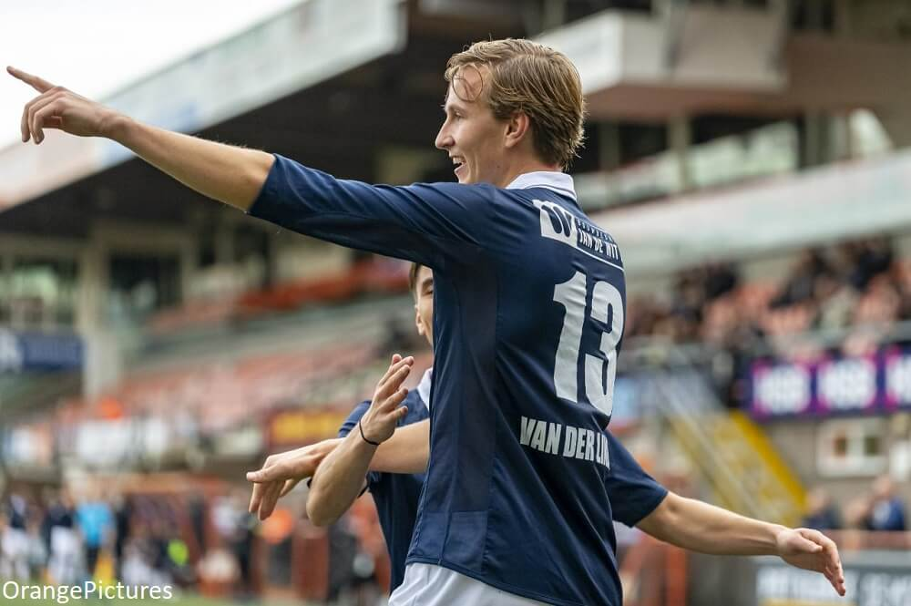 Matchwinner Van der Linden (HFC): 'Of het een penalty was of niet maakt mij geen drol uit' - Voetbal247.nl